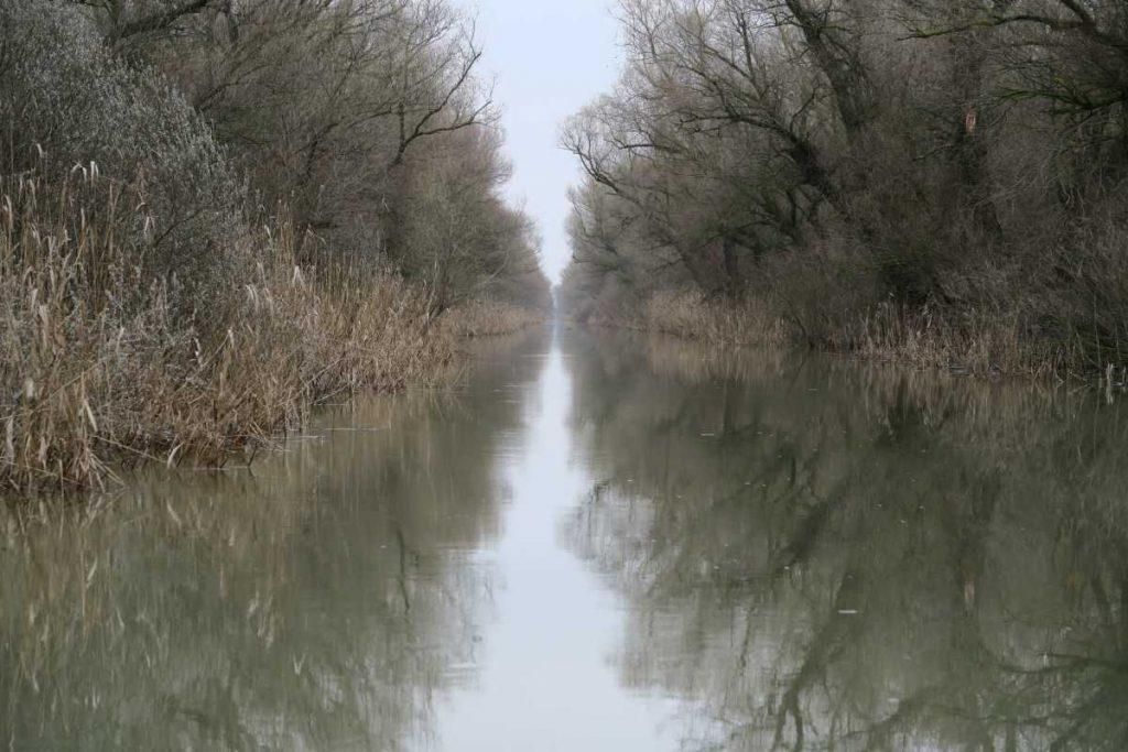 canal spre Pensiunea Delta Paradis