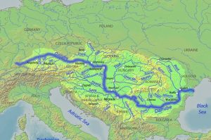 hata fluviului Dunărea